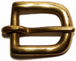 12mm Solid Brass Buckle. Code BUC021